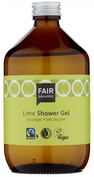 FAIR SQUARED Shower Gel Lime 500 ml | Duschgel
