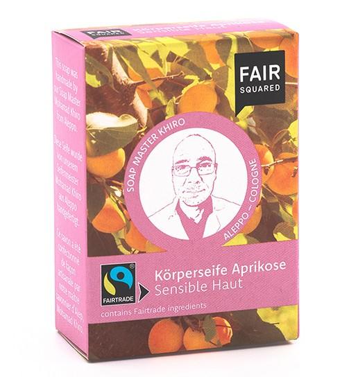 FAIR SQUARED Körperseife Aprikose 1 x 80 gr.