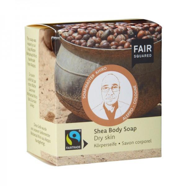 FAIR SQUARED Shea Body Soap Dry Skin 2 x 80 gr.