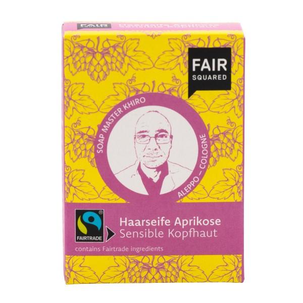 FAIR SQUARED Apricot Hair Soap Sensitive Skin