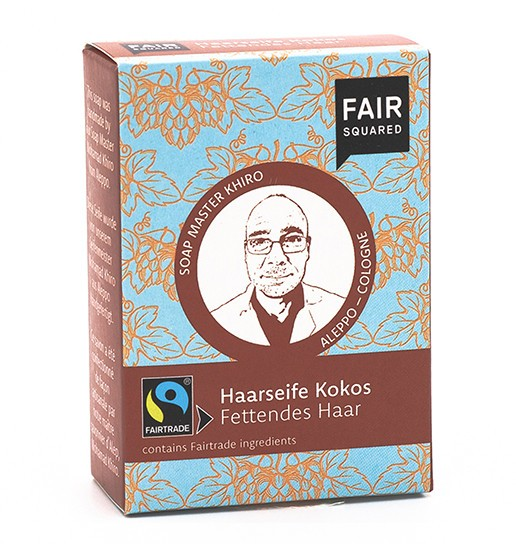 FAIR SQUARED Coconut Hair Soap Greasy