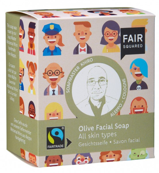 FAIR SQUARED Olive Facial Soap - 2x80gr.