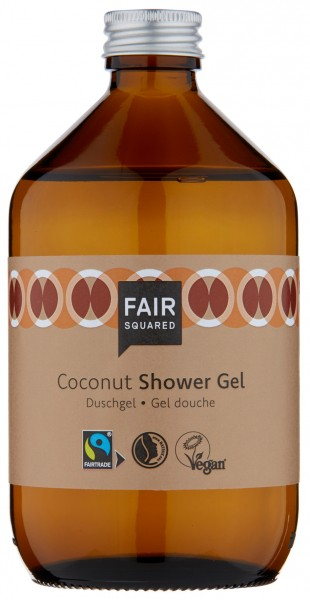 FAIR SQUARED Shower Gel Coconut 500 ml | Duschgel