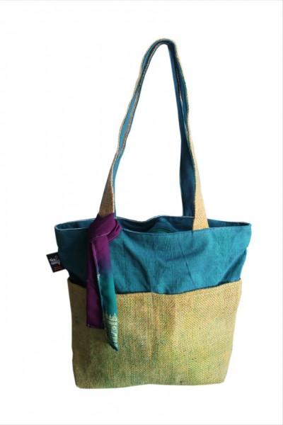 RICE & CARRY Jute - Einkaufstasche
