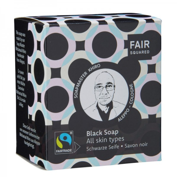 FAIR SQUARED Black Soap 2 x 80 gr.