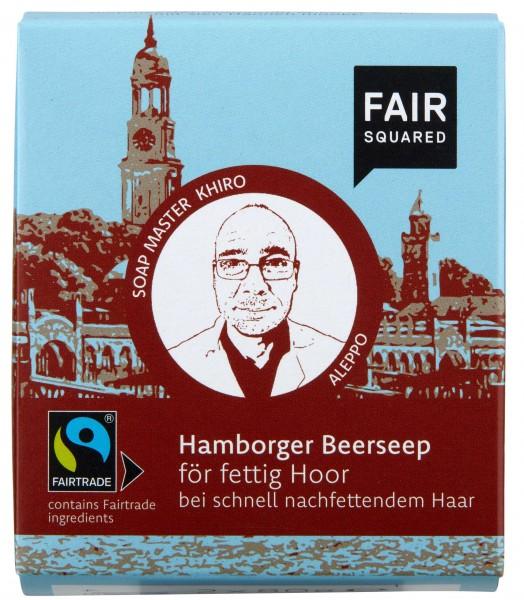 FAIR SQUARED Hamborger Beerseep för fettig Hoor 2x80gr.