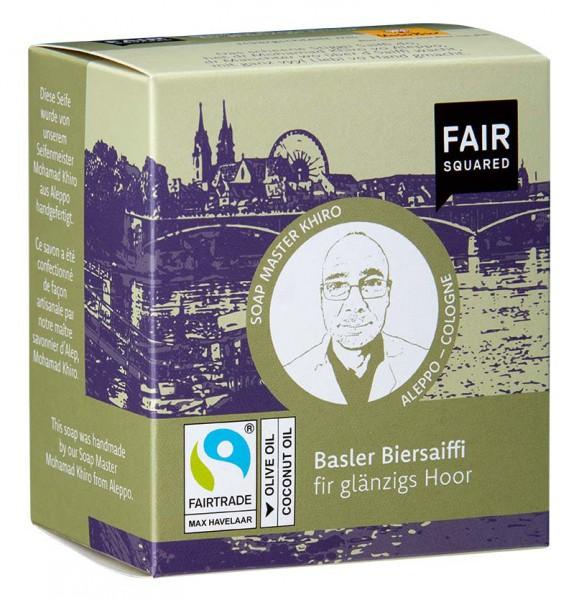 FAIR SQUARED Baseler Biersaiffi Olive 2 x 80 gr.