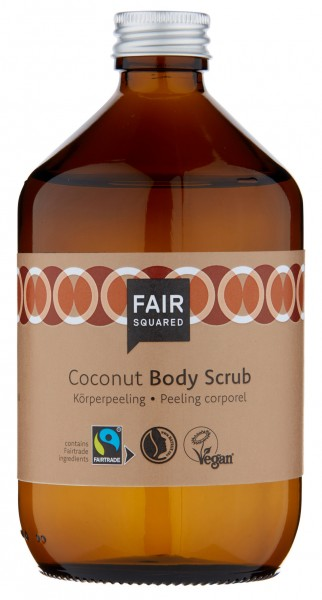 FAIR SQUARED Body Scrub Coconut 500 ml | Körperpeeling