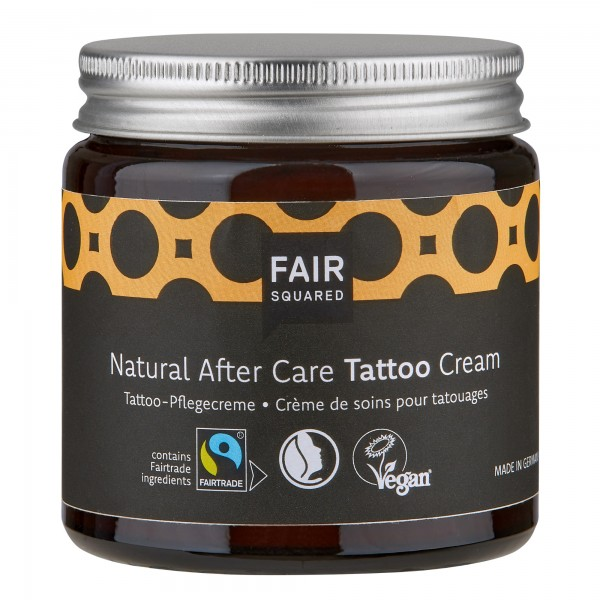 FAIR SQUARED Natural After Care Tattoo Cream 100 ml