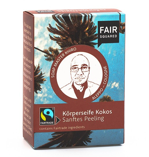 FAIR SQUARED Coconut Body Soap Peeling