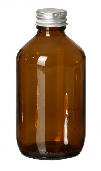 DIY Glasflasche Braun 250ml