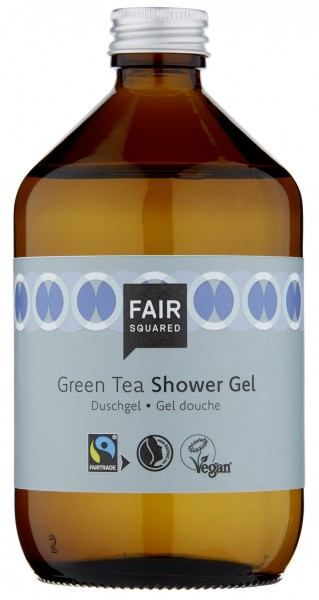 FAIR SQUARED Shower Gel Green Tea 500 ml | Duschgel