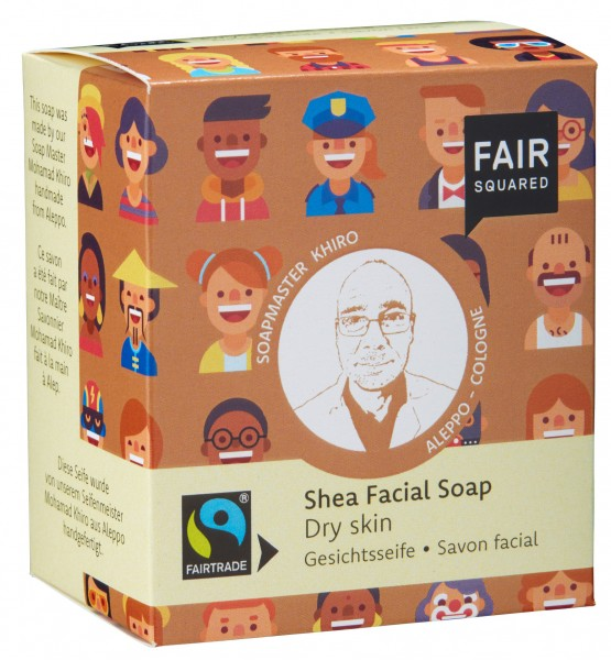 FAIR SQUARED Shea Facial Soap Dry Skin - 2x80gr.