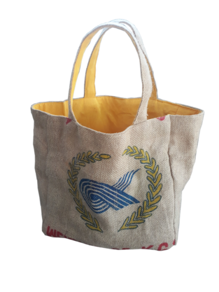 RICE & CARRY Jute - Strandtasche