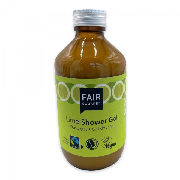 FAIR SQUARED Shower Gel Lime 240 ml