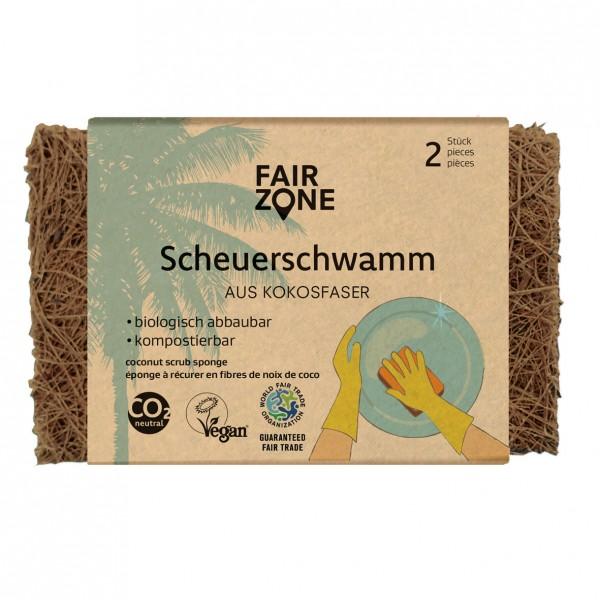 FAIR ZONE Scheuerschwamm 2er