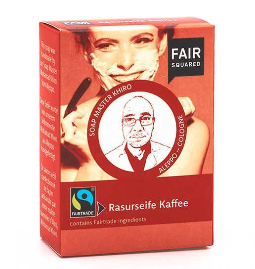 FAIR SQUARED Coffee Shaving Soap