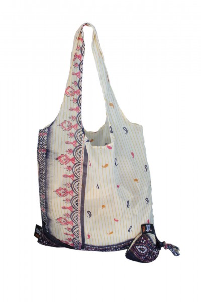 RICE & CARRY Sari Falttasche / Saree Bag 2er