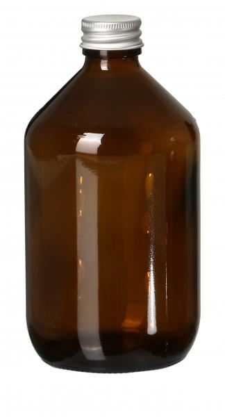 DIY Glasflasche Braun 500ml