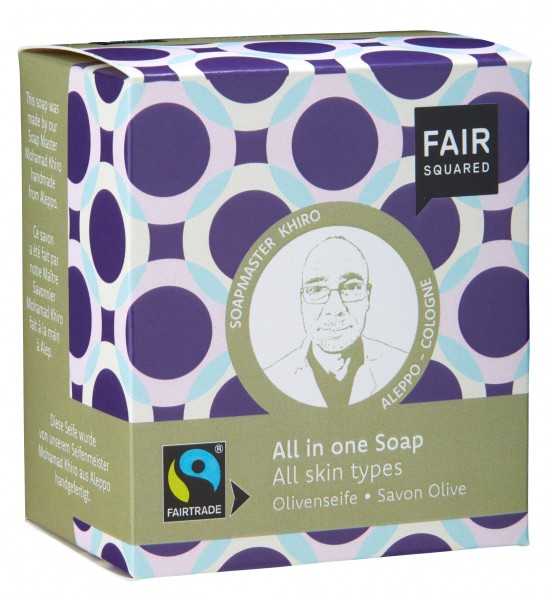 FAIR SQUARED All in One Soap
